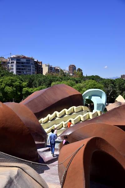 speelpark, Valencia, glijbanen