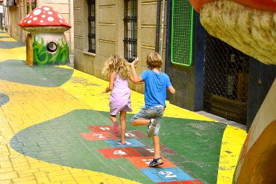 Mushroom Street, Alicante, paddestoelen, Calle de las Setas