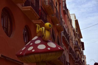 Paddestoel, Mushroom Street, Alicante, Calle de las Setas