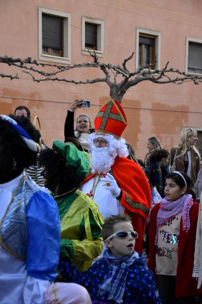 Alfaz del Pi, optocht, 5 december, zwarte piet