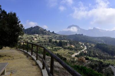 uitzicht vanaf mirador Tarbena
