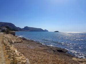 Zee, strand, vrijheid. Altea