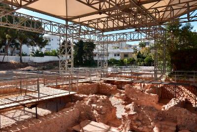 Romeinen in Albir, archeologische opgraving, badhuis, archeologische museum