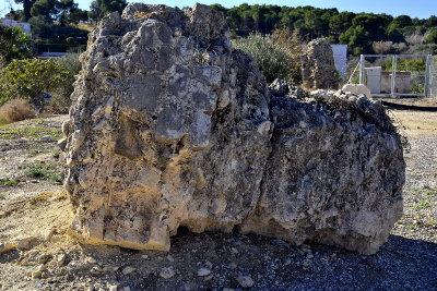 rots, ruine, steen, Altea